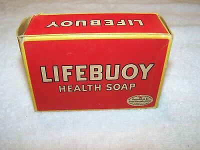 LIFEBUOY HEALTH SOAP Vintage Bath/General Store Collectible