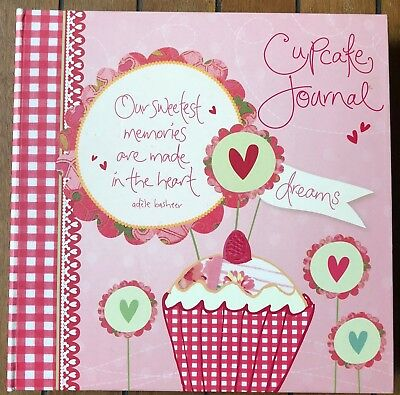 Cupcake Journal, Make your own Cookbook, by Adele Basheer / Intrinsic Great Gift
