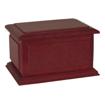 Wood Adult Cremation Urn (Wooden Urns) - Boston Rosewood Companion