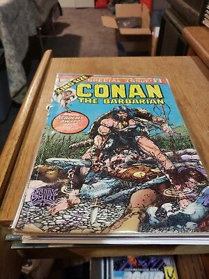 Lot of Vintage Conan, Kull & Thongor Comics - 10 Comics