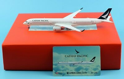 JC Wings 1:400 Cathay Pacific Airline Airbus A350-1000 Diecast Model Plane B-LXA