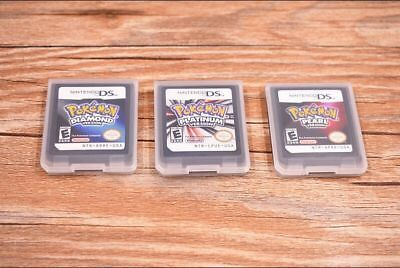 New  Pokemon Platinum/Pearl/Diamond Game Card For 3DS NDSI NDS NDSL Lite US