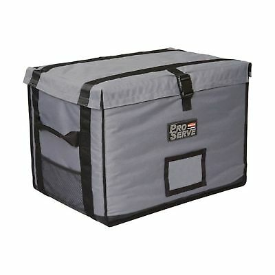 Rubbermaid Commercial Full-Size Food Pan Insulated Carrier, Gray, FG9F1600CGRAY