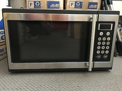 Breville microwave oven, countertop, stainless steel, model BMO300/A, like new