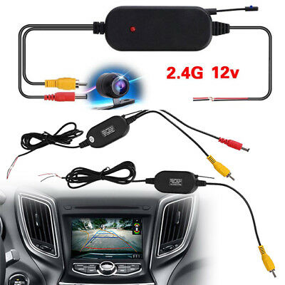 Wireless Transmitter Receiver For Car Reverse Rear View Camera Monitor R8V9