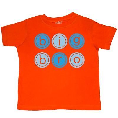 997c0e34 Inktastic Big Bro Circles Toddler T-Shirt Circle Brother Older Sibling Tees.  Kid