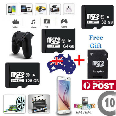 Micro SD Card 64GB 32G 16G 128G Ultra Class10 Mobile Phone Tablet Memory Adapter