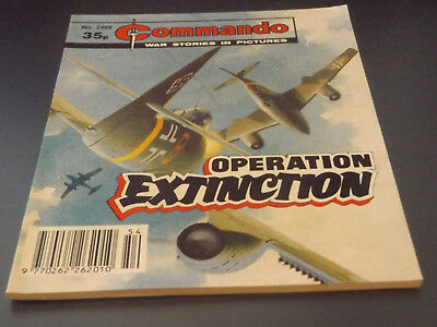 Commando War Comic Number 2488!,1991 Issue,v Good For Age,27 Years Old,v Rare.