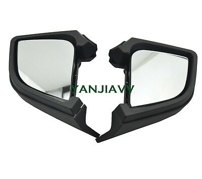 For BMW R1200RT R1200 RT 2005-2012 2009 2010 Left/Right Rear View Mirrors Black