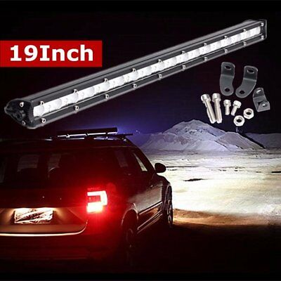 19 Inch 54W LED Slim Work Light Bar Spot Flood Combo Off-Road Driving SUV Lamp