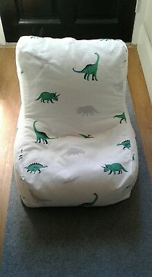 Great Little Trading Co ( GLTC )Washable Bean Bag chair Dinosaur RRP £55