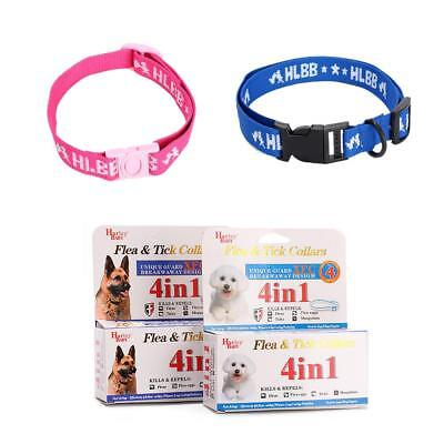 Adjustable 4 in 1 Cat Dog Pet Flea Egg Tick Collar Protection Kill Mosquitoe AU!