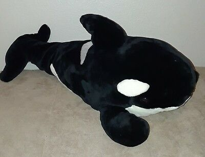 Giant 30 Seaworld Orca Killer Whale Plush Shamu Huge Stuffed Animal