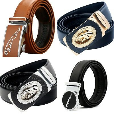Mens Panther Designs Belts Automatic Leather Belt For Men H Gift Boys Mens Belt