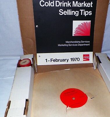 Coca-Cola Company Seventies Series Training Marketing Lp/film Booklets 1970
