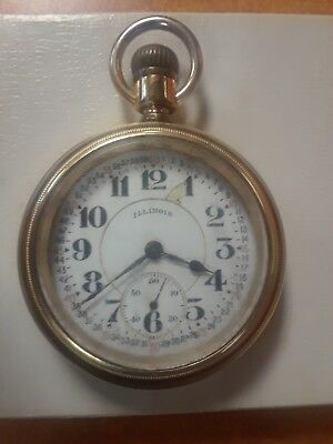 My Grandfather's 1920s Illinois Bunn Special Railroad pocket watch