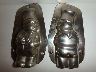 XRARE Antike Schokoladenform KOCH antique chocolate mold CHEF VORMENFABR # 16506
