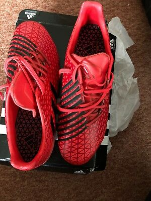 6662131a96d ADIDAS PREDATOR MALICE SG PRO Mens Rugby Boots Size 6.5 - £15.00 ...