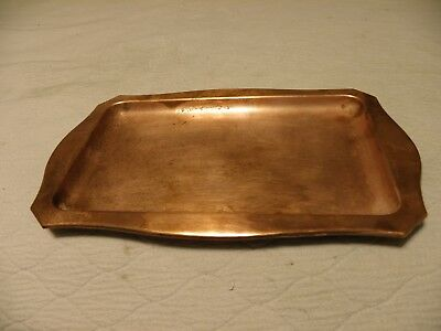Vintage West Bend Copper utility tray