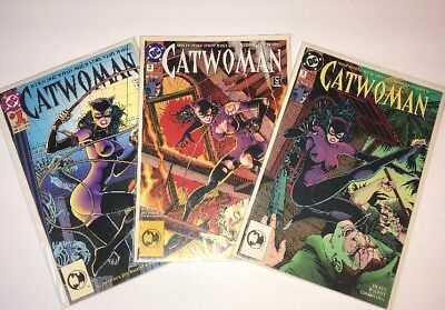 CATWOMAN Vol.2 Issues #1-3 1993