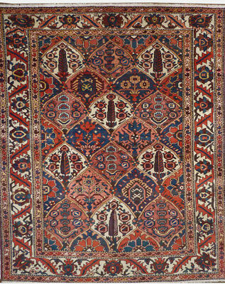Tapis Persan Traditionnel Oriental hand made  208 cm x159 cm  N° 30