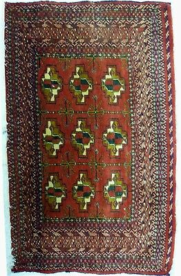 Tapis Persan Traditionnel Oriental hand made 105 cm x 60 cm  N° 56