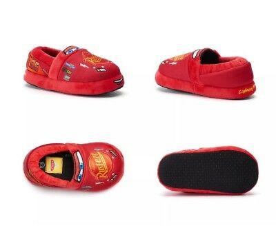 Disney Red Cars Slippers Toddler Size : S New with Tag