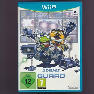Star Fox Guard (Wii U Disc Version) Rare Kids Tower Defence Amiibo Game Boys PAL