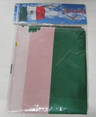 Mexico Mexican Flag Polyester 3 x 5 Feet NEW