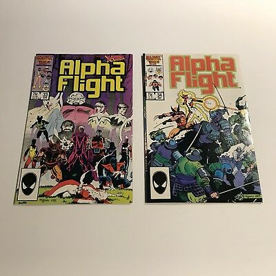 Alpha Flight 33 34 First Lady Deathstrike