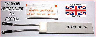 Ghd 70 Ohm Heater Element & Free Paste. For All Mk4 And Mk5 Models.