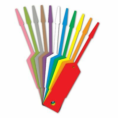 AMERICAN MADE 1000 Plastic Self Lock Arrow Key Tags  Genuine Versa Tags
