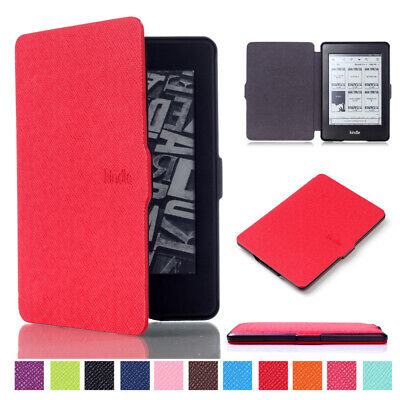 Premier Side Flip Case for Amazon Kindle Paperwhite 123 PU Leather Cover Holder