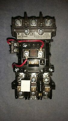 Allen Bradley 500F-BOD930 Contactor with 592-EUTB Overload Realy