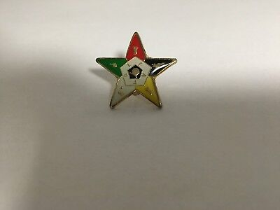Order Of The Eastern Star Hat/lapel Pin