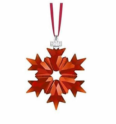 Swarovski Crystal, 2018 Annual Edition Christmas Ornament, Red 5460487