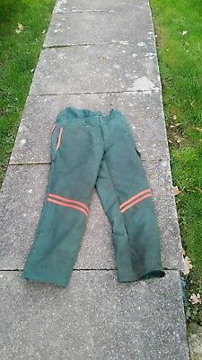 Chainsaw trousers type a