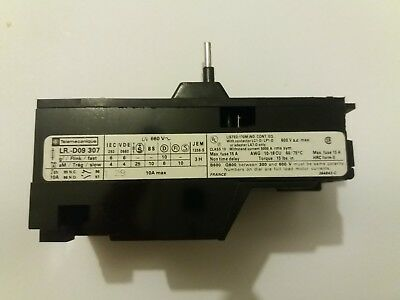 TELEMECANIQUE LR-D09-307 Thermal Overload Relay