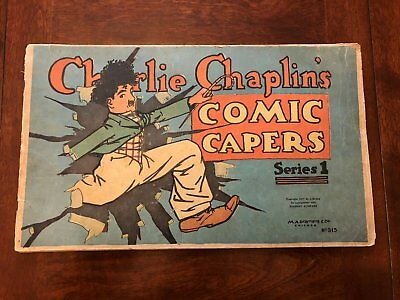 Charlie Chaplin Comic Capers 1 (1917)! Incredibly Rare & 100 years old!