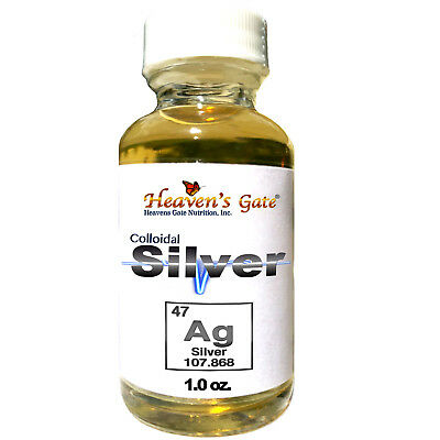 Colloidal Silver High Quality 100% Pure 25+ Ppm Buy 2 Get 1 Free