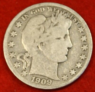 1909-S 50C Barber Half Dollar G Beautiful Coin Check Out Store Bh260