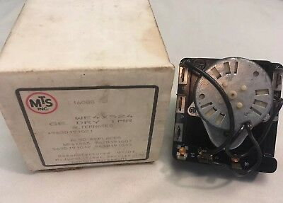 BRAND NEW NIB Genuine OEM GE Dryer Timer Assembly WE4X524 RARE DISCONTINUED