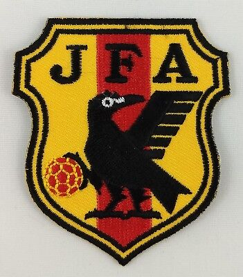 Japan FC Football Club Soccer Patch Badge Embroidered Iron On Applique