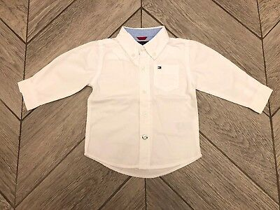 Tommy Hilfiger Baby Boys White Shirt 12months
