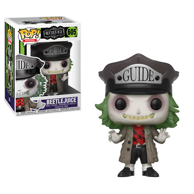 Funko POP! Vinyl Figure Movies BEETLEJUICE #605 Free Fast Shipping New In Hand