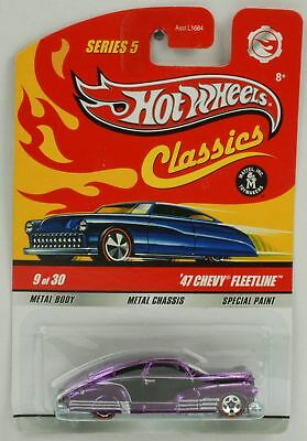 1:64 Hot Wheels Classics 40th 47 Chevy Fleetline special paint