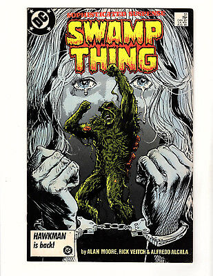 Swamp Thing #51 (1986, DC) FN- Vol 2 Alan Moore Steve Bissette Rick Veitch