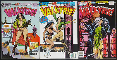Valkyrie! #1-3 (1988, Eclipse) 2 Complete Limited Series Set Chuck Dixon Airboy