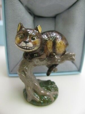 Rare CHESHIRE CAT from  Alice in Wonderland Halcyon Days Porcelain Ltd Ed of 250