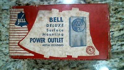 Bell Electric 161 Deluxe Power Outlet 250 Volt 30A -Free Shipping